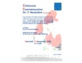 La cérémonie commémorative du 11 novembre aura lieu à huis-clos